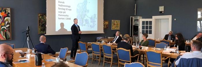 Vejpolitisk debat på Christiansborg